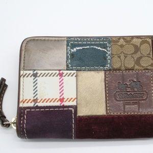 Coach Bags - Coach Patchwork Zip Around Wallet